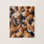 Extremos de cigarrillo rompecabezas