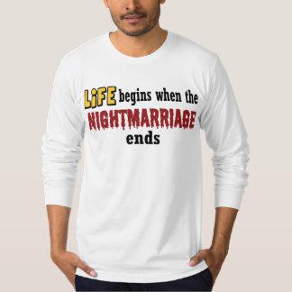 Extremos de Nightmarriage Camisas