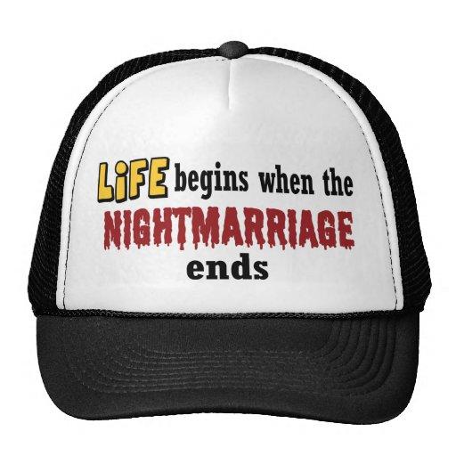 Extremos de Nightmarriage Gorro De Camionero