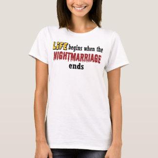 Extremos de Nightmarriage Playera