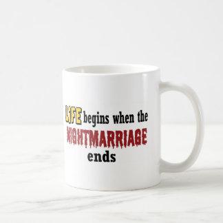 Extremos de Nightmarriage Taza De Café