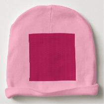 Extropix Pink Patterns Baby Hat