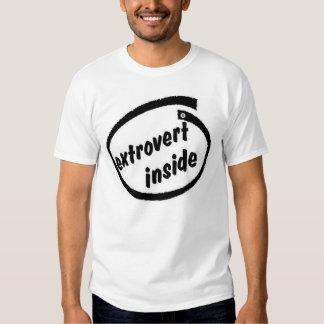 Extrovert inside shirt
