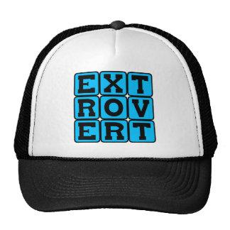 Extrovert, rasgo de la personalidad gorras de camionero