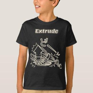 Extrude (White) T-Shirt