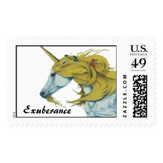 Exuberance Postage Stamp