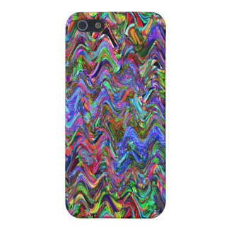 Exuberant Color Zigzag Abstract iPhone SE/5/5s Cover