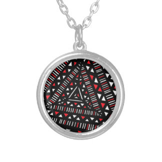 Exuberant Creative Affectionate Champ Round Pendant Necklace