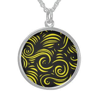 Exuberant Fetching Creative Courageous Round Pendant Necklace