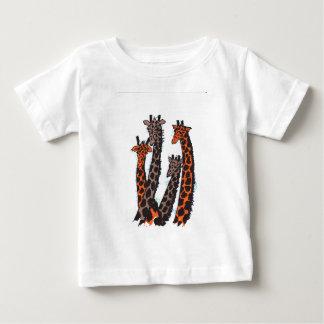 """""""Exuberant Giraffes"""" Baby Fine Jersey T-Shirt"""
