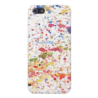 Exuberant Splatter Covers For iPhone 5