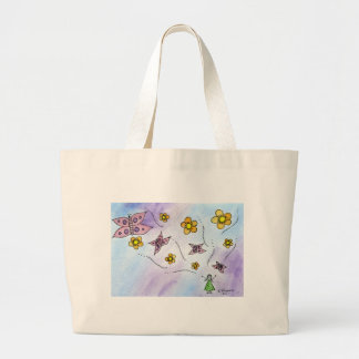 Exuding Happiness Tote Bags