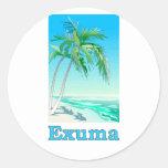 Exuma, Bahamas Etiqueta