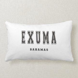 Exuma Bahamas Lumbar Pillow