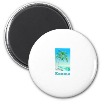 Exuma, Bahamas Fridge Magnets