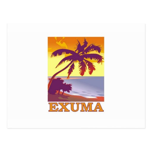 Exuma, Bahamas Tarjeta Postal