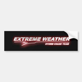 EXWX red glow bumper sticker Car Bumper Sticker
