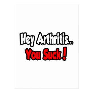 ¡Ey artritis… que usted chupa! Tarjetas Postales