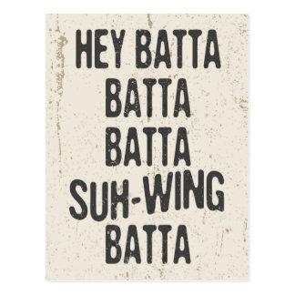 Ey Batta Batta -814 Tarjetas Postales