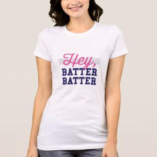 Ey camiseta del béisbol de las mujeres del talud