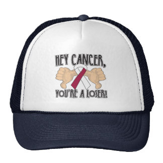 Ey cáncer de cabeza y cuello usted es un perdedor gorros