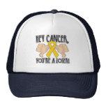 Ey cáncer de Neuroblastoma usted es un perdedor Gorras