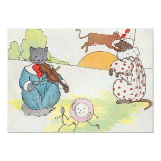 ¡Ey, diddle, diddle!  El gato y el violín Comunicado