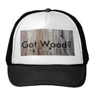 """¿Ey el camionero, """"Ya consiguió cualquier madera? Gorras"""