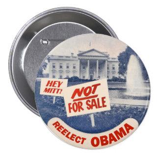 Ey el mitón reelige a Obama Pins