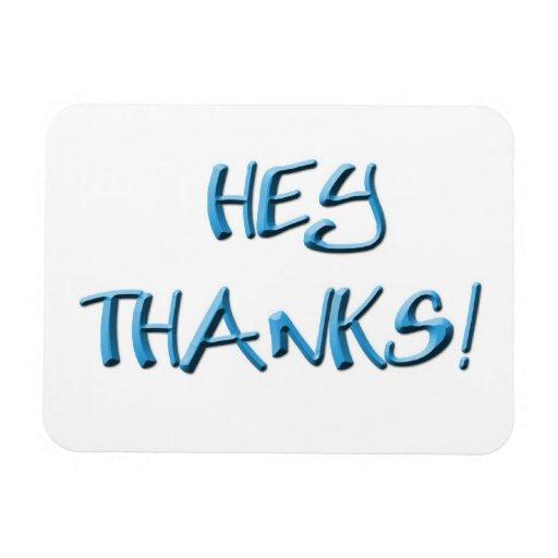 ¡Ey, gracias! Gracias los regalos Iman