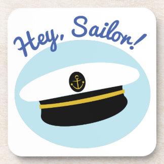 Ey marinero posavasos de bebidas