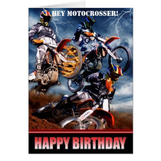 ¡Ey Motocrosser! Tarjetón
