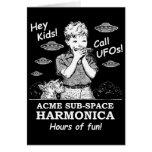 ¡Ey niños! ¡Llamada UFOs! Tarjetón