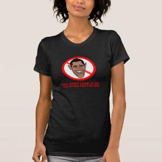 Ey, no me mire: usted votó por el camiseta