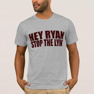 Ey parada de Ryan el Lyin Playera