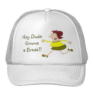 Ey plantilla de la gorra de béisbol del dibujo ani