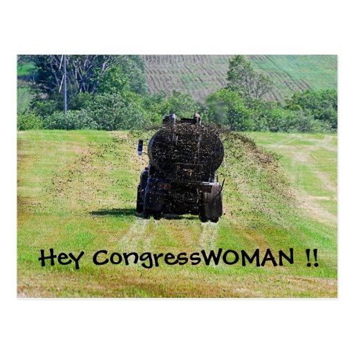 Ey postal del Congresswoman