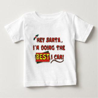 ¡Ey Santa! Playera De Bebé