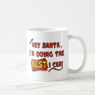 ¡Ey Santa! Taza Clásica