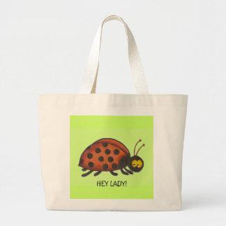 Ey señora, señora Bug Bag Bolsas De Mano