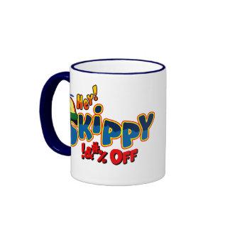 ¡Ey Skippy! Taza De Dos Colores