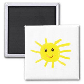 Ey sol imán cuadrado