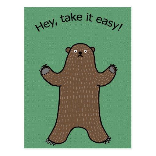 Ey tómele el arbolado fácil de Big Bear postal div