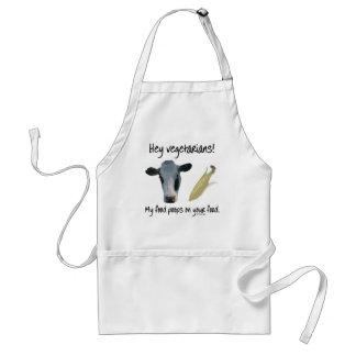¡Ey vegetarianos! Delantales