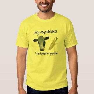 ¡Ey vegetarianos! Remera