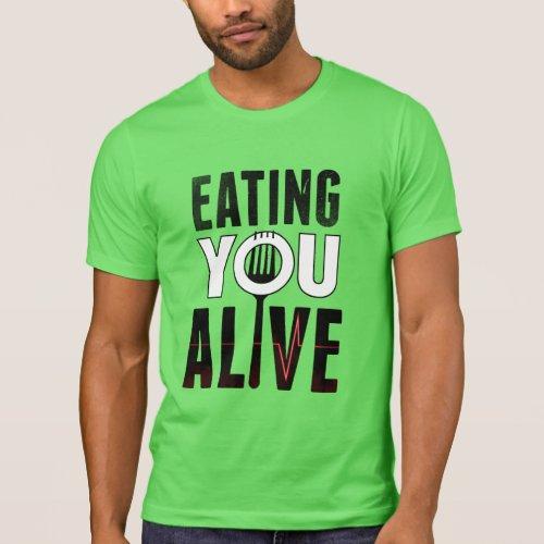EYA logo _ Crew Neck T_Shirt
