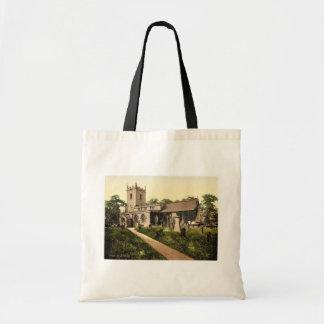 Eyam Church, Derbyshire, England classic Photochro Bag