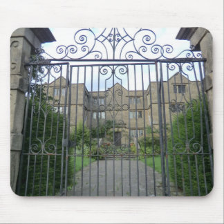Eyam Hall in Derbyshire, England Mousepads