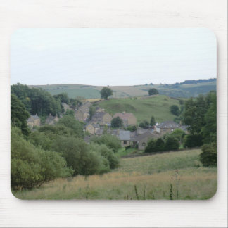 Eyam, the Historic Plague Village in Derbyshire Mouse Pad