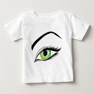 eye-149673 BEAUTY FASHION MAKEUP SALON  eye, green Shirt